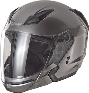 Load image into Gallery viewer, TOURIST SOLID HELMET TITANIUM XL