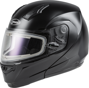 Load image into Gallery viewer, MD-04S MODULAR SNOW HELMET W/ELECTRIC SHIELD BLACK XL