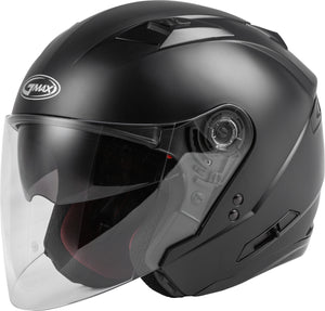Load image into Gallery viewer, OF-77 OPEN-FACE HELMET MATTE BLACK SM