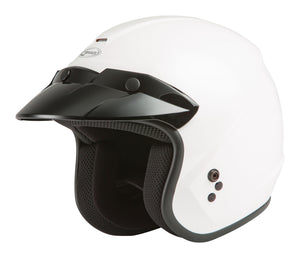 Load image into Gallery viewer, OF-2 OPEN-FACE HELMET WHITE MD