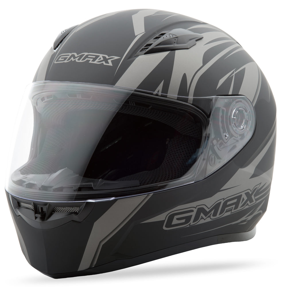 Load image into Gallery viewer, FF-49 FULL-FACE DERK HELMET MATTE BLACK/SILVER 2X