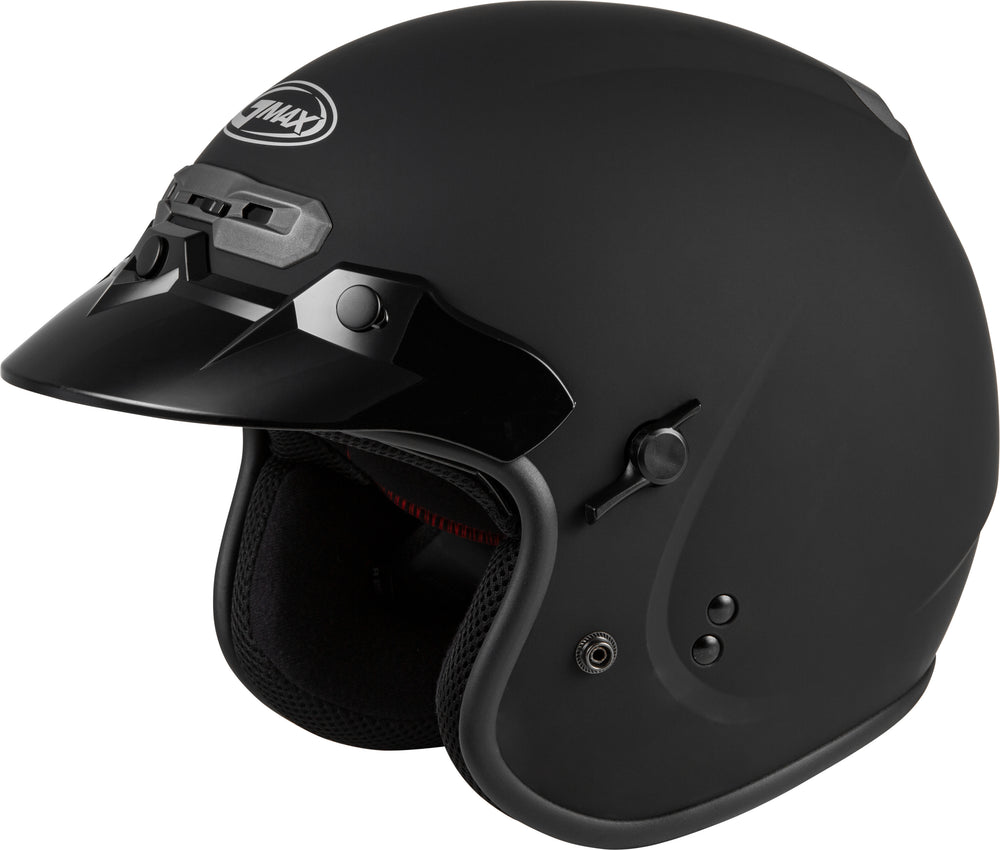 GM-32 OPEN-FACE HELMET MATTE BLACK LG