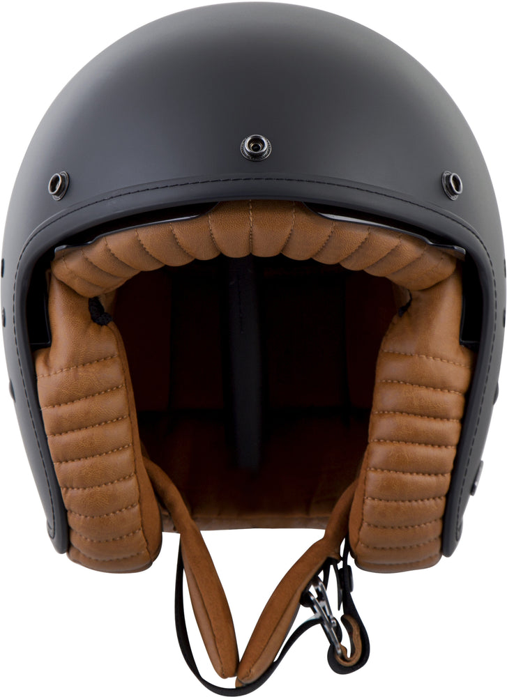 Load image into Gallery viewer, BELLFAST OPEN-FACE HELMET MATTE BLACK 3X