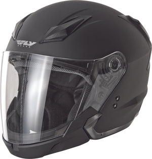 Load image into Gallery viewer, TOURIST SOLID HELMET MATTE BLACK LG