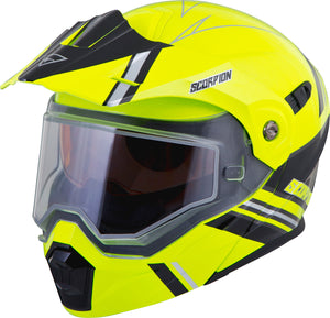 Load image into Gallery viewer, EXO-AT950 COLD WEATHER HELMET TETON HI-VIS 2X (DUAL PANE)