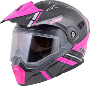 Load image into Gallery viewer, EXO-AT950 COLD WEATHER HELMET TETON PINK SM (DUAL PANE)