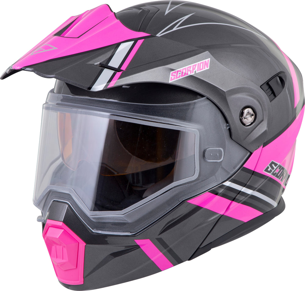 EXO-AT950 COLD WEATHER HELMET TETON PINK 2X (DUAL PANE)