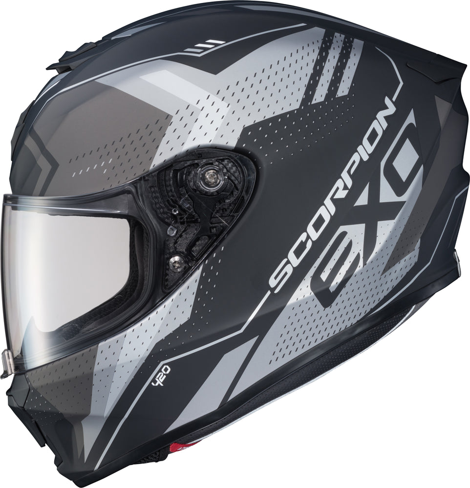 Load image into Gallery viewer, EXO-R420 FULL-FACE HELMET SEISMIC MATTE DARK GREY XL