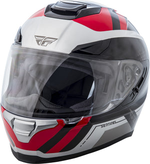 Load image into Gallery viewer, SENTINEL MESH HELMET GREY/RED XS