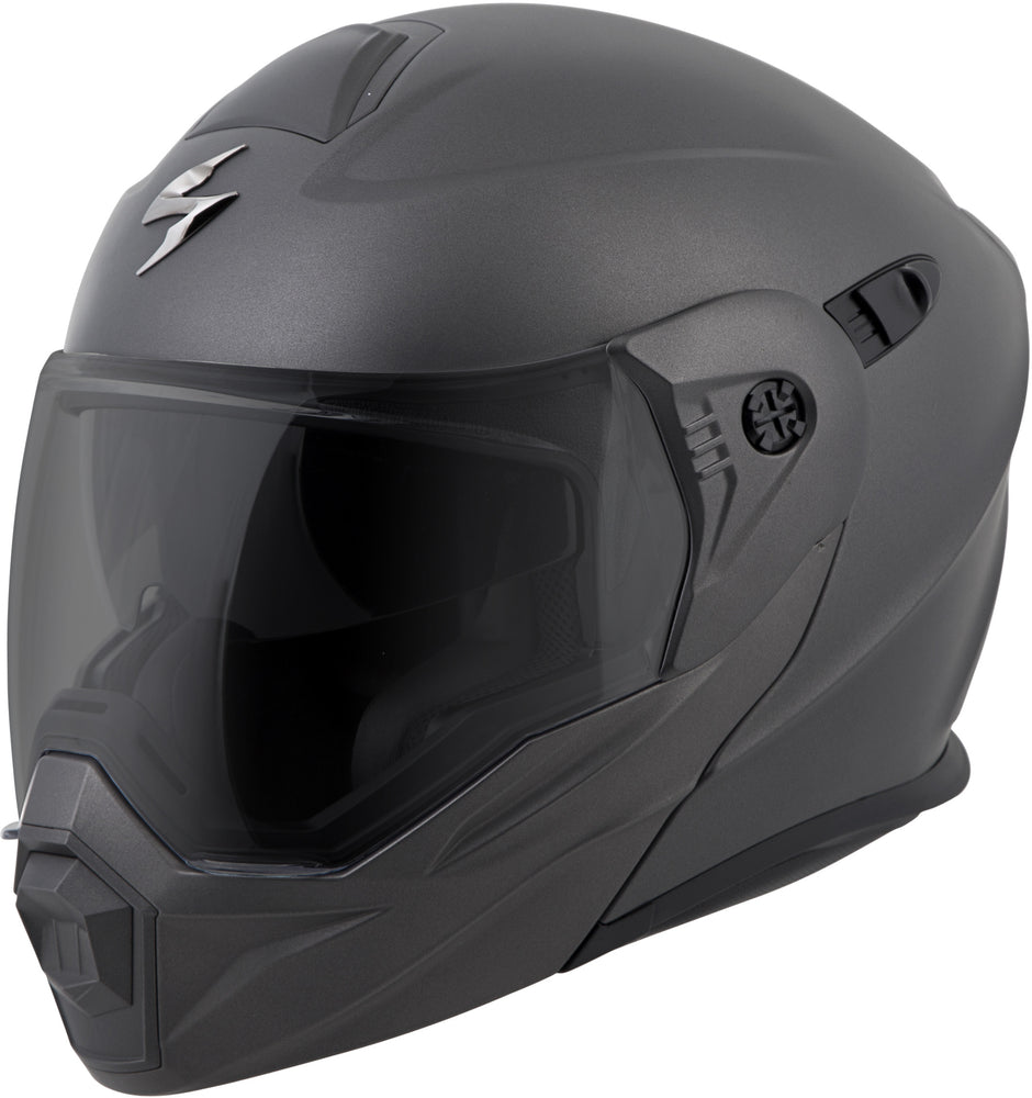 Load image into Gallery viewer, EXO-AT950 MODULAR HELMET MATTE ANTHRACITE XL