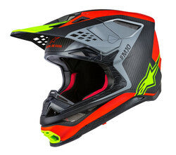 ANAHEIM 1 M-10 HELMET RED/BLACK/YELLOW XS