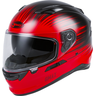FF-98 FULL-FACE RELIANCE HELMET RED/BLACK SM