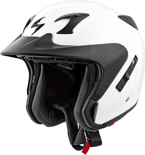 Load image into Gallery viewer, EXO-CT220 OPEN-FACE HELMET GLOSS WHITE SM