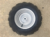 16x7-8 REAR WHEEL ASSEMBLY L. It fits on MID XRX and BLAZER 200R GO KART