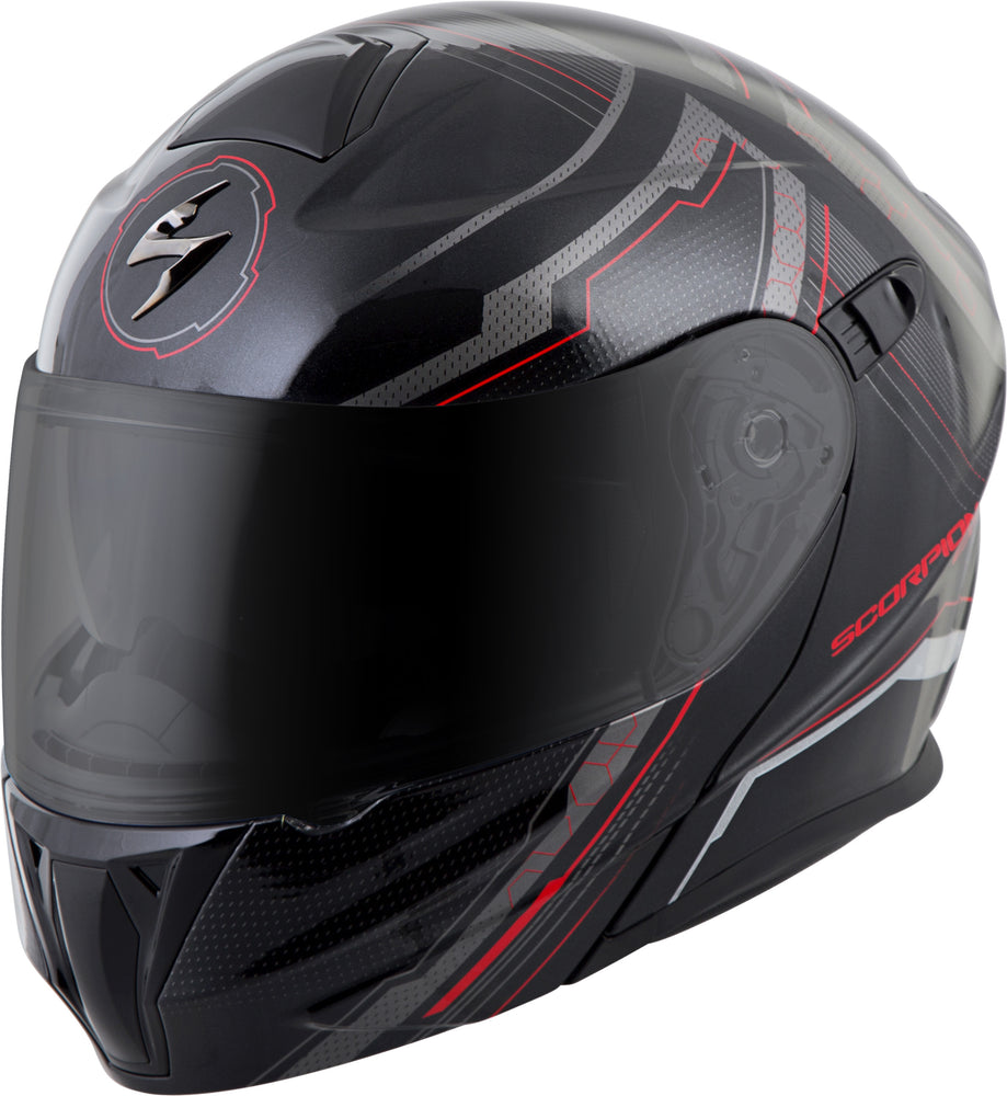 EXO-GT920 MODULAR HELMET SATELLITE RED SM