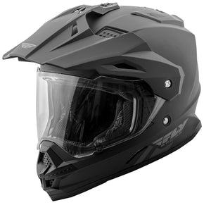 Load image into Gallery viewer, TREKKER SOLID HELMET MATTE BLACK XL
