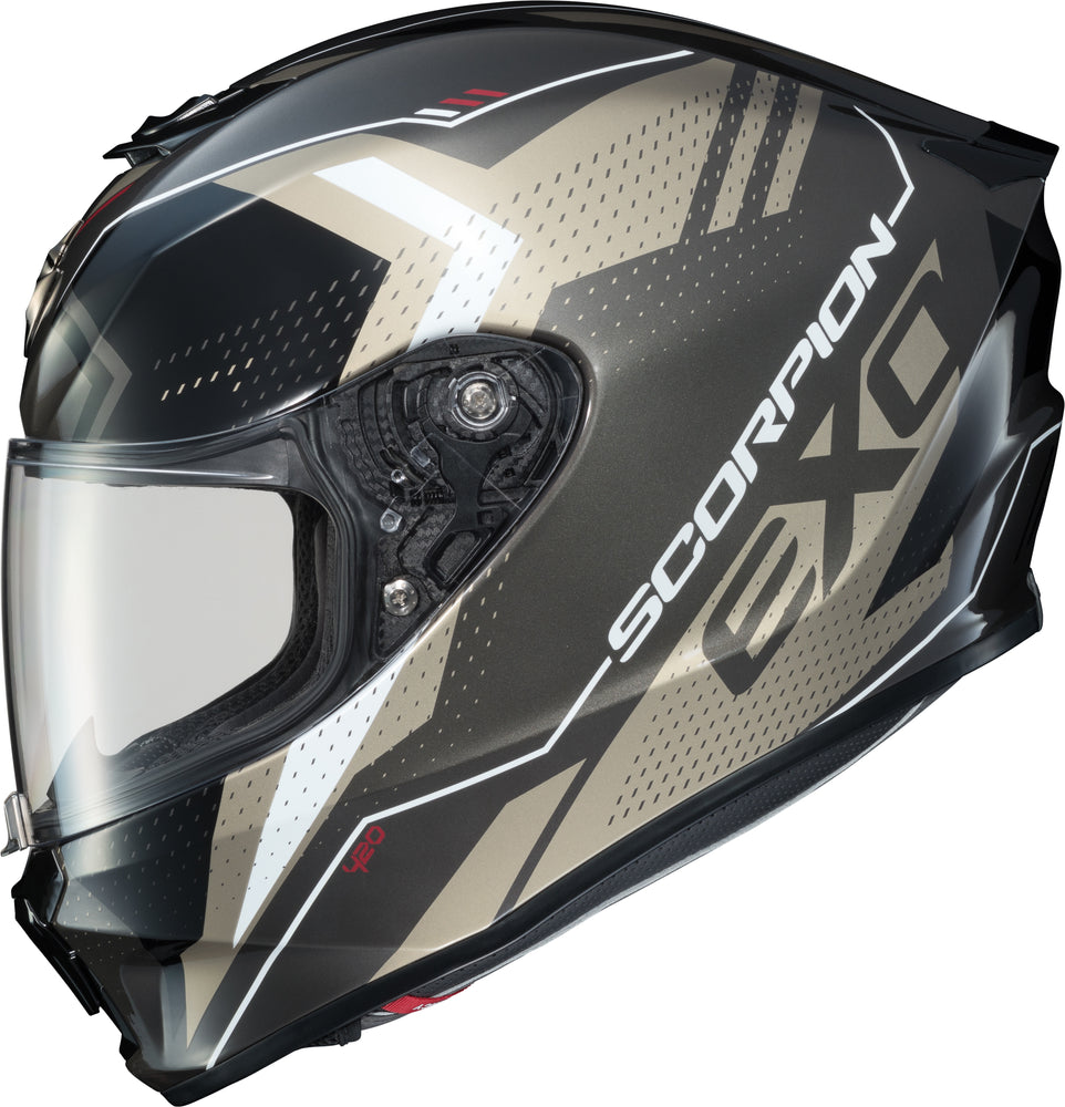 Load image into Gallery viewer, EXO-R420 FULL-FACE HELMET SEISMIC TITANIUM SM