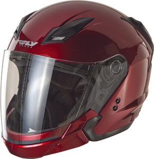 TOURIST SOLID HELMET CANDY RED LG