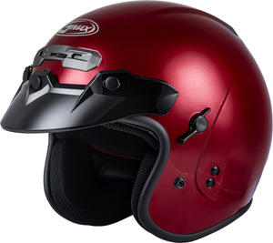 GM-32 OPEN-FACE HELMET CANDY RED MD