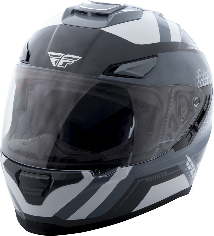 Load image into Gallery viewer, SENTINEL MESH HELMET GREY/WHITE LG