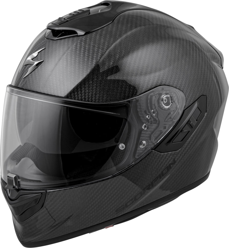 Load image into Gallery viewer, EXO-ST1400 CARBON FULL-FACE HELMET GLOSS BLACK LG