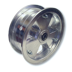 "Load image into Gallery viewer, Go Kart, Mini Bike 8 in. Tri-Star Wheel, with 5/8"" Tapered Roller Bearing"