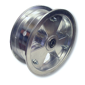 "Load image into Gallery viewer,  Go Kart, Mini Bike 8 in. Tri-Star Wheel, with 3/4"" Tapered Roller Bearing"