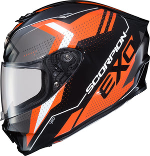 Load image into Gallery viewer, EXO-R420 FULL-FACE HELMET SEISMIC ORANGE 2X