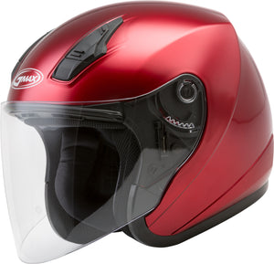 OF-17 OPEN-FACE HELMET CANDY RED 2X