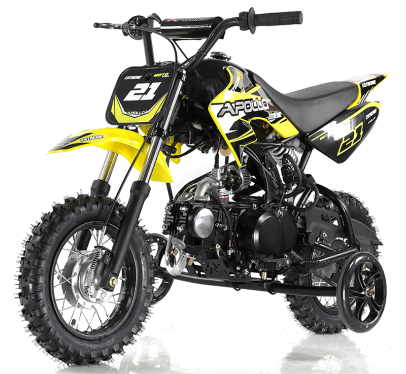 70cc Kids Dirt Bike (Training Wheels Included)