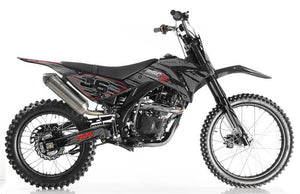 Apollo 250RX Dirt Bike, 5-Speed, Electric Start (21/18) CARB Approved for California