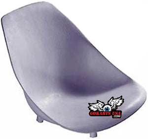 Azusa Go Kart Bucket Seat Kit, with Cover and Hardware
