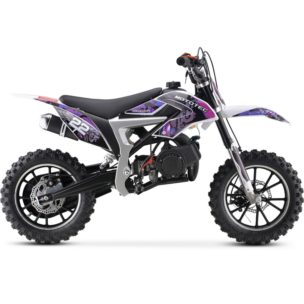 50cc Demon Kids Gas Dirt Bike 2-Stroke