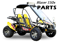 Load image into Gallery viewer, STEERING ADJUSTMENT BOLT M8X255, for TrailMaster Blazer 150x Go Kart