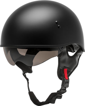 Load image into Gallery viewer, HH-65 HALF HELMET NAKED MATTE BLACK XS