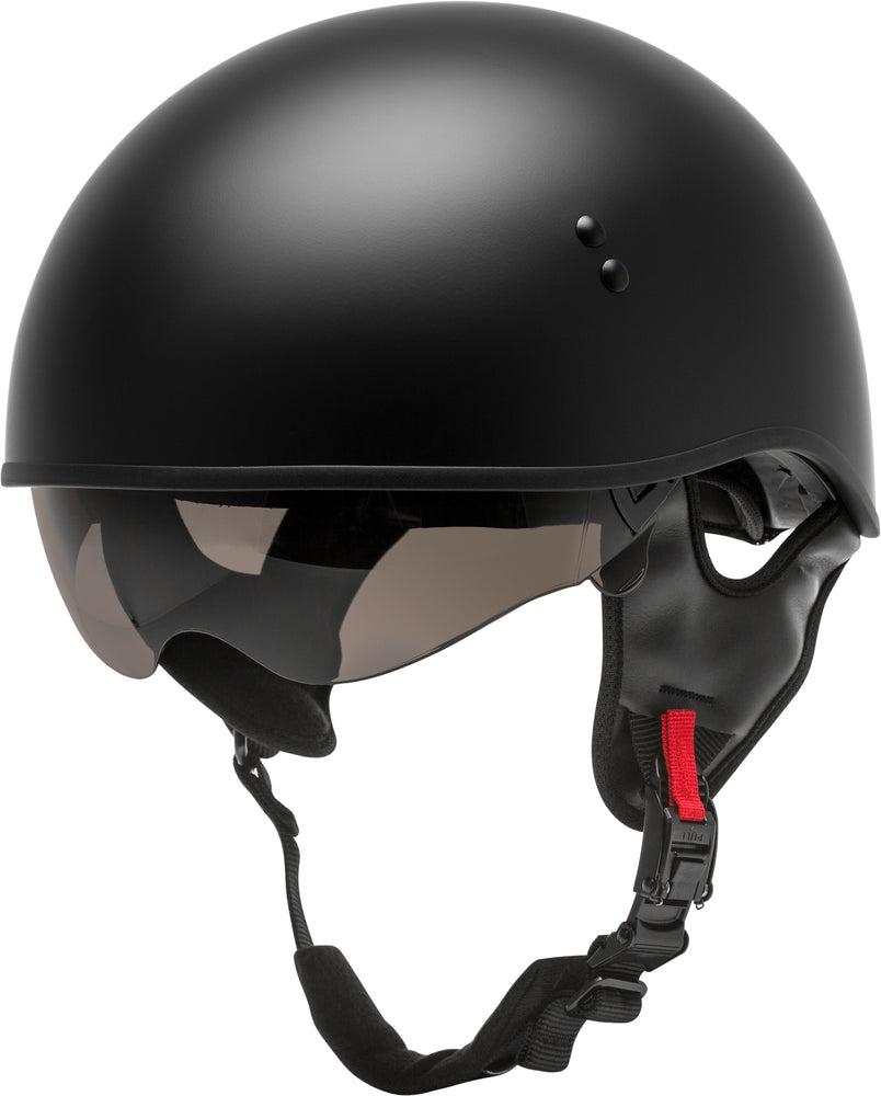 Load image into Gallery viewer, HH-65 HALF HELMET NAKED MATTE BLACK XL