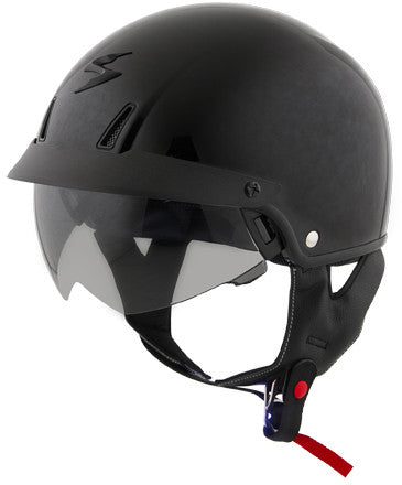 EXO-C110 OPEN-FACE HELMET GLOSS BLACK SM