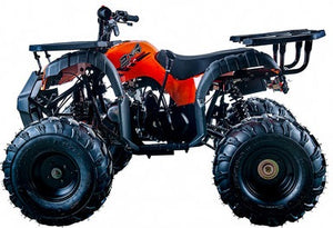 Apollo Rider-10 125 ATV, Auto with Reverse, Front Rack, Rear Rack, Deluxe front Bumper