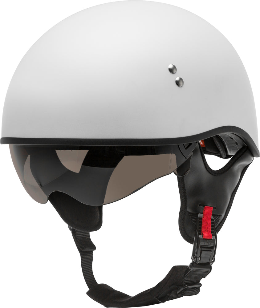 Load image into Gallery viewer, HH-65 HALF HELMET NAKED MATTE WHITE SM