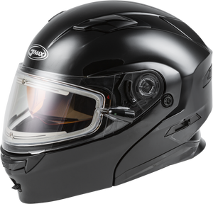 MD-01S MODULAR SNOW HELMET W/ELECTRIC SHIELD BLACK XL