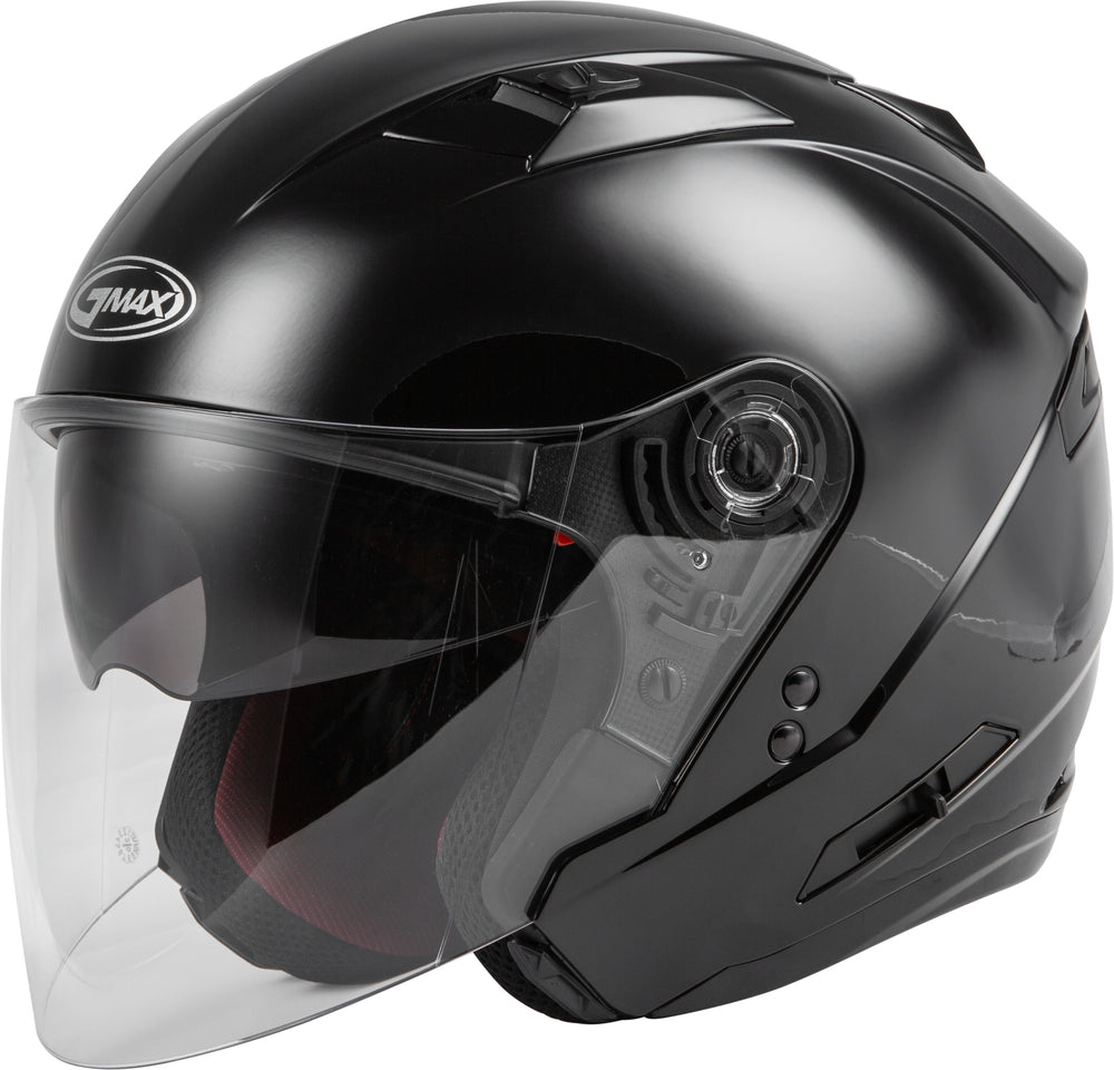 OF-77 OPEN-FACE HELMET BLACK XS