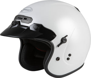GM-32 OPEN-FACE HELMET PEARL WHITE SM
