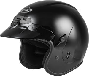 Load image into Gallery viewer, GM-32 OPEN-FACE HELMET BLACK XS