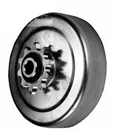 1 in.  #40/41 HEAVY DUTY, Centrifugal Clutch,  10-Tooth