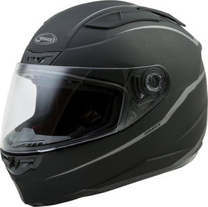 FF-88 FULL-FACE PRECEPT HELMET MATTE BLACK/GREY S