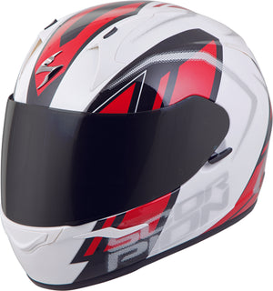 EXO-R320 FULL-FACE HELMET ENDEAVOR WHITE/RED LG