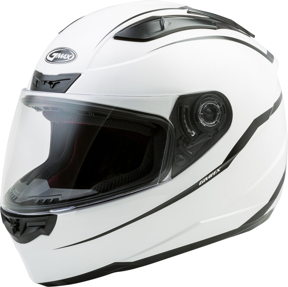 Load image into Gallery viewer, FF-88 FULL-FACE PRECEPT HELMET WHITE/BLACK LG