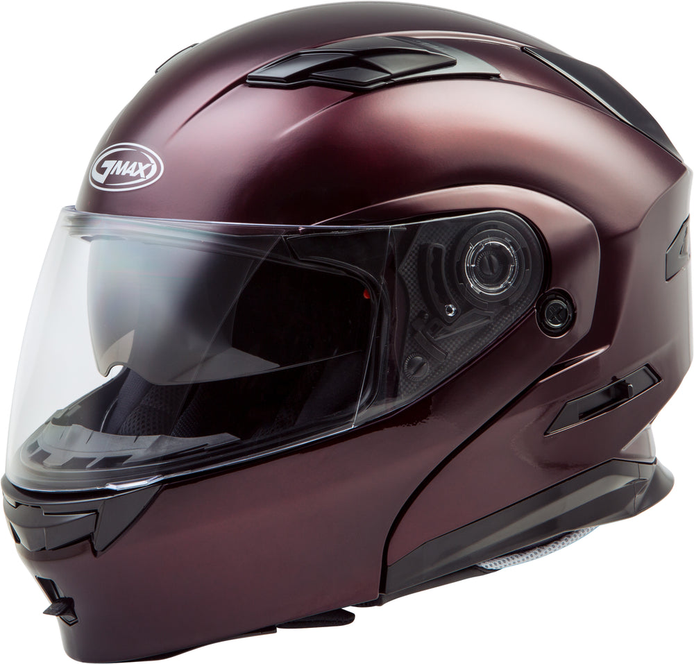 MD-01 MODULAR HELMET WINE RED LG