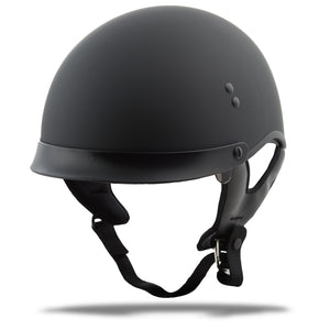 Load image into Gallery viewer, HH-65 HALF HELMET FULL DRESSED MATTE BLACK XS