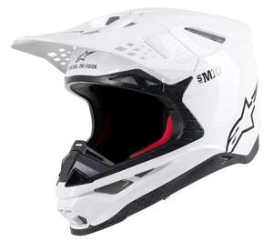 S.TECH S-M10 SOLID HELMET WHITE SM